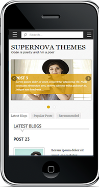 Supernova Mobile Version